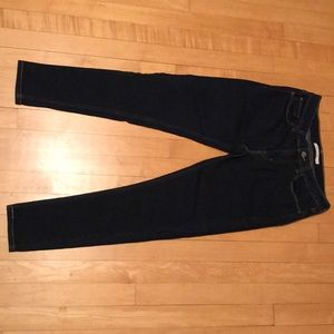Women's Levi 535 Super Skinny Dark Jeans - 30 (8s)